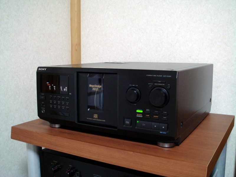 SONY CDP-CX350